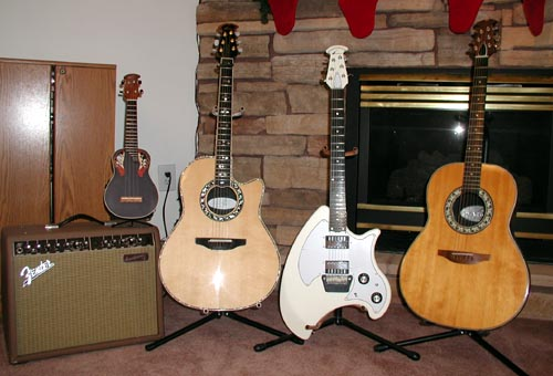 Where Do You Find Serial Numbers for Ovation Guitars